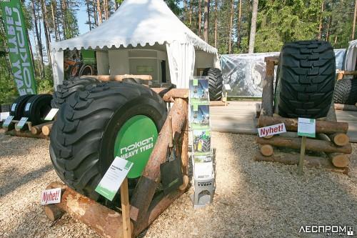 Шины Nokian для лесозаготовительной техники