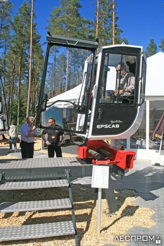 Epscab. Новая кабина гидроманипулятора от Epsilon