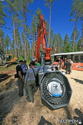 Агрегат Bracke Forest для посадки саженцев