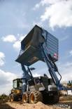 Рубительная установка Bruks на базе Eco Log (рубительная машина)