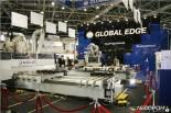 Деревообрабатывающее оборудование Busellato на стенде Глобал Эдж