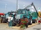Трактор PM с прицепным форвардером