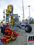 Харвестер на базе трактора Kaizer c харвестерной головкой Woody 50
