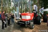 Гоночный трактор от Firestone, производителя шин для лесной техники