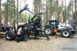 Форвардер-прицеп (трелевочная телега) Jysky с гидроманипулятором