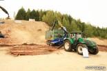 Рубительная машина Bruks (измельчитель древесины)