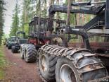 Лесозаготовительная техника бывшая в употреблении