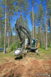Агрегат Bracke Forest для посадки саженцев с закрытой корневой системой