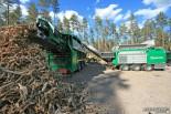 Оборудование для измельчения и сортировки древесных отходов Komptech