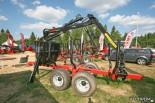 Прицеп-форвардер (трелевочная телега с гидроманипулятором) Farmi Forest