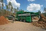 Машина для сортировки древесных отходов Komptech Multistar L3 (измельчитель древесины)