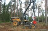 Харвестер Eco Log. Демонстрация возможностей