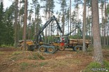 Харвестер Eco Log 560D и форвардер Eco Log 574C