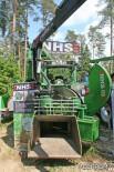 Рубительная машина NHS 450, устанавливаемая на тракторе