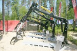 Гидроманипуляторы для лесовозов и форвардеров Cranab