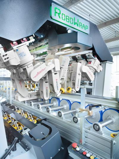 RoboWrap - автоматизированный профилеоблицовочный станок
