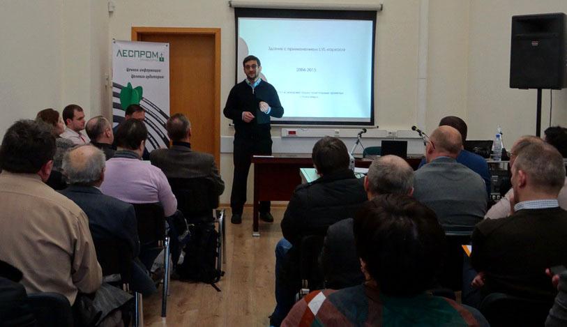 Модератор семинара - независимый эксперт по склеиванию древесины и основатель сайта «ПРО клеим» Михаил Тарасенко