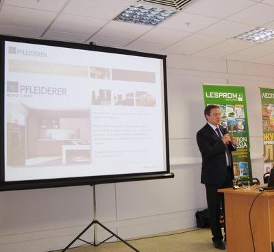 Дмитрий Лобанов (ООО «Флайдерер) о древесных плитах, эмиссии и проблемах сезонного характера продаж мебели