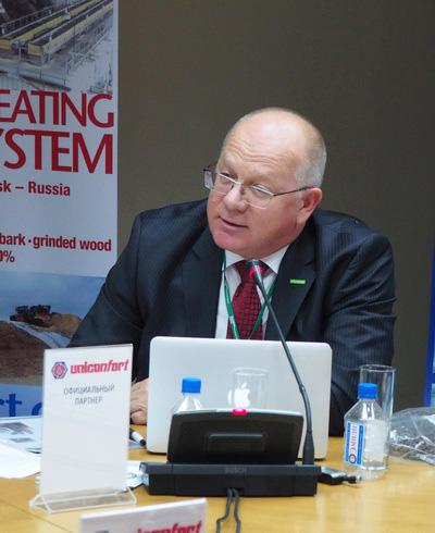 Докладчик: представитель компании TORREC в РФ Тойво КУКК. Доклад «Торрефицированные пеллеты – новые возможности для бизнеса»