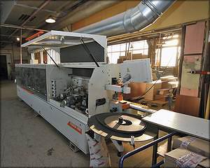 Автоматический кромкооблицовочный станок Casadei Flexa 208 (Италия)