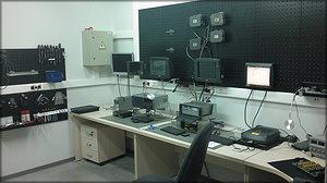 Современное, полностью изолированное от статического электричества помещение для ремонта и обслуживания систем OPTI
