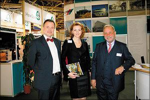 На выставке «Лесдревмаш 2012»