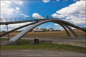Пешеходный мост Леонардо, Норвегия