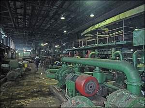 Оборудование польской фирмы Zemak, на котором изготавливают ДВП, безотказно работает на комбинате уже почти 37 лет!