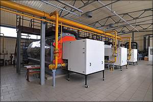 Новая водогрейная газовая котельная
