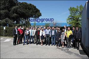 Участники технологического тура SCM Group
