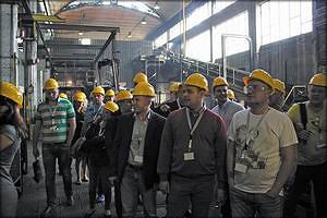 На литейном заводе SCM Group в г.Римини