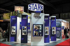 Стенд компании STARK