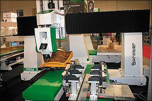 Обрабатывающий центр с ЧПУ Sprinter Greda (Италия)