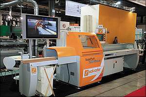 Оптимизирующий пильный станок Salvador Superpush 200