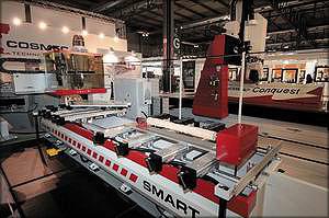 Пятикоординатный станок Smart 3D (Cosmec Technology)