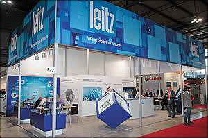 Стенд компании Leitz