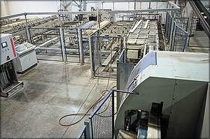 Линия оптимизации и склейки ламелей оснащена оборудованием Weinig