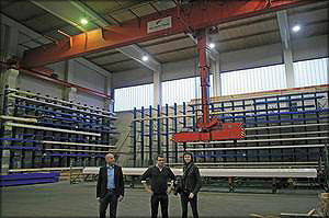 Автоматизированный склад готовой продукции