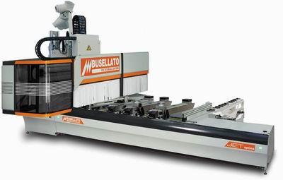 JET OPTIMA T5 (Busellato) – пятишпиндельный обрабатывающий центр для изготовления объемных изделий