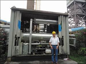 ORC-модуль мощностью 200 кВт на металлургическом заводе