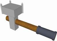 Рис. 1. Образец инструмента для нанесения точек маркера на поверхность