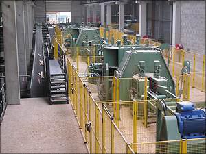 Профилирующая установка во Франции после ввода в эксплуатацию