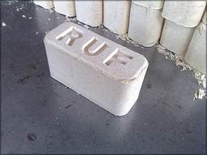 У брикетов RUF форма кирпичика