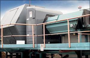 Рис. 6. Рентгенографическая установка для определения внутреннего строения пиловочных бревен (Limab)