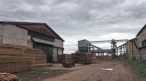 Производственная территория предприятия