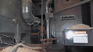 Аспирационная система (Schuko) с рубительной и брикетной установкой