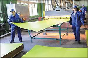 Первая очередь Жешартского ЛПК в поселке Демьяново Подосиновского района была запущена в ноябре прошлого года. Сейчас на предприятии работает около 300 человек, в дальнейшем предполагается расширение производства