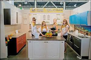 Стенд компании «Цвет Мебели» на выставке «Экспомебель-Урал»