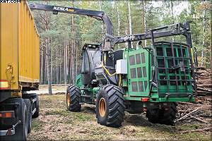 Рубительная машина Амкодор 2904
