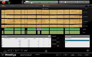 Графический интерфейс сканера WoodEye